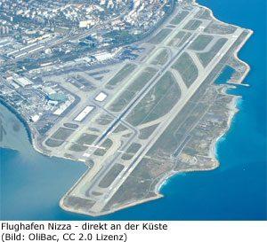 Flughafen Nizza Airport Aeroport Nice Cote d`Azur