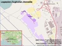 Karte Plan Flughafen Marseille pdf