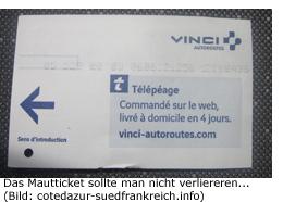 Preis Kosten Maut Ticket Box