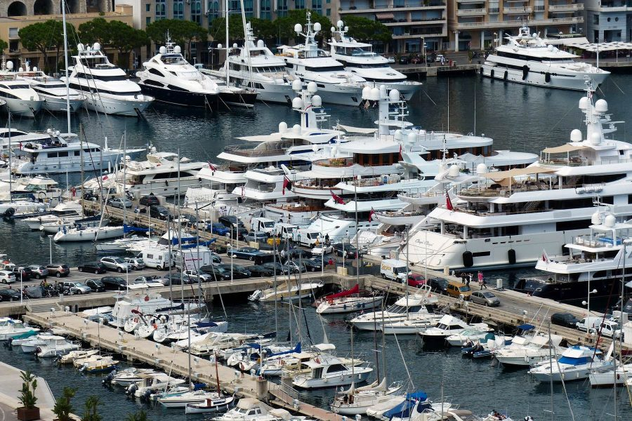 Monaco Yachthafen