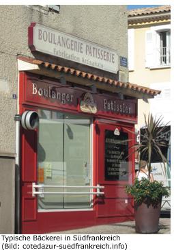 Frühstück Croissant Südfrankreich Essgewohnheit