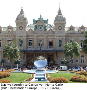 Casino Spielbank Sightseeing Monte Carlo Kleiderordnung Krawatte