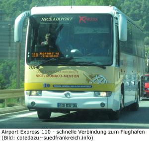 Flughafen Monaco Bus Express Transfer