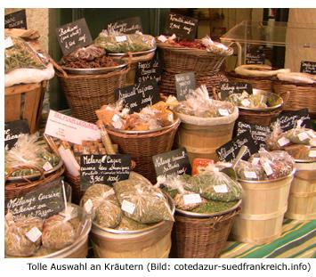 Kräuter Südfrankreich Küche Zutaten Spezialität Essen