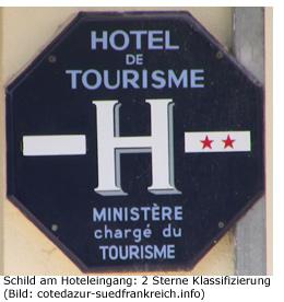 Sternde Cofrac gutes Hotel