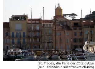 Saint Tropez Cote d Azur Frankreich