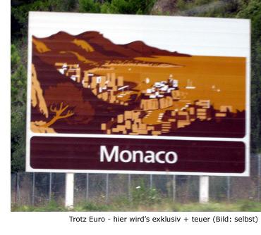 Währung Preis Kosten Euro Monaco