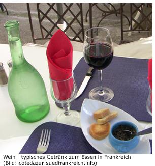 Wein Gütesiegel AOC Südfrankreich