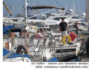 Yacht Hafen Promi VIP